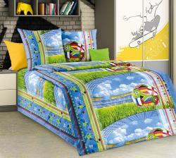 Купить постельное белье из бязи «Матч» (1.5 спальное)