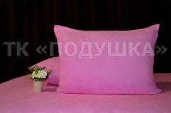 Купить розовые махровые наволочки на молнии в Санкт-Петербурге