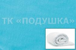 Купить голубой трикотажный пододеяльник в Санкт-Петербурге