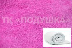 Купить розовый махровый пододеяльник  ТМ Подушка в Санкт-Петербурге