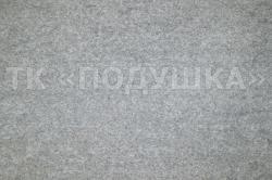 Серая махровая простынь на резинке